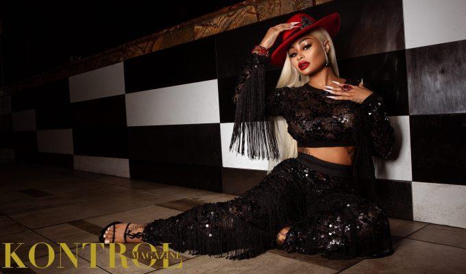 Blac Chyna for Kontrol Magazine