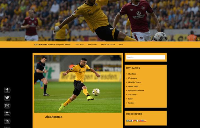 Webseite Aias Aosmann