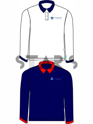 Contoh Desain Poloshirt Seragam