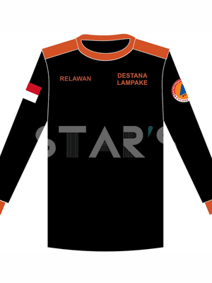 Desain Baju SAR Rescue BPBD Destana Lampake