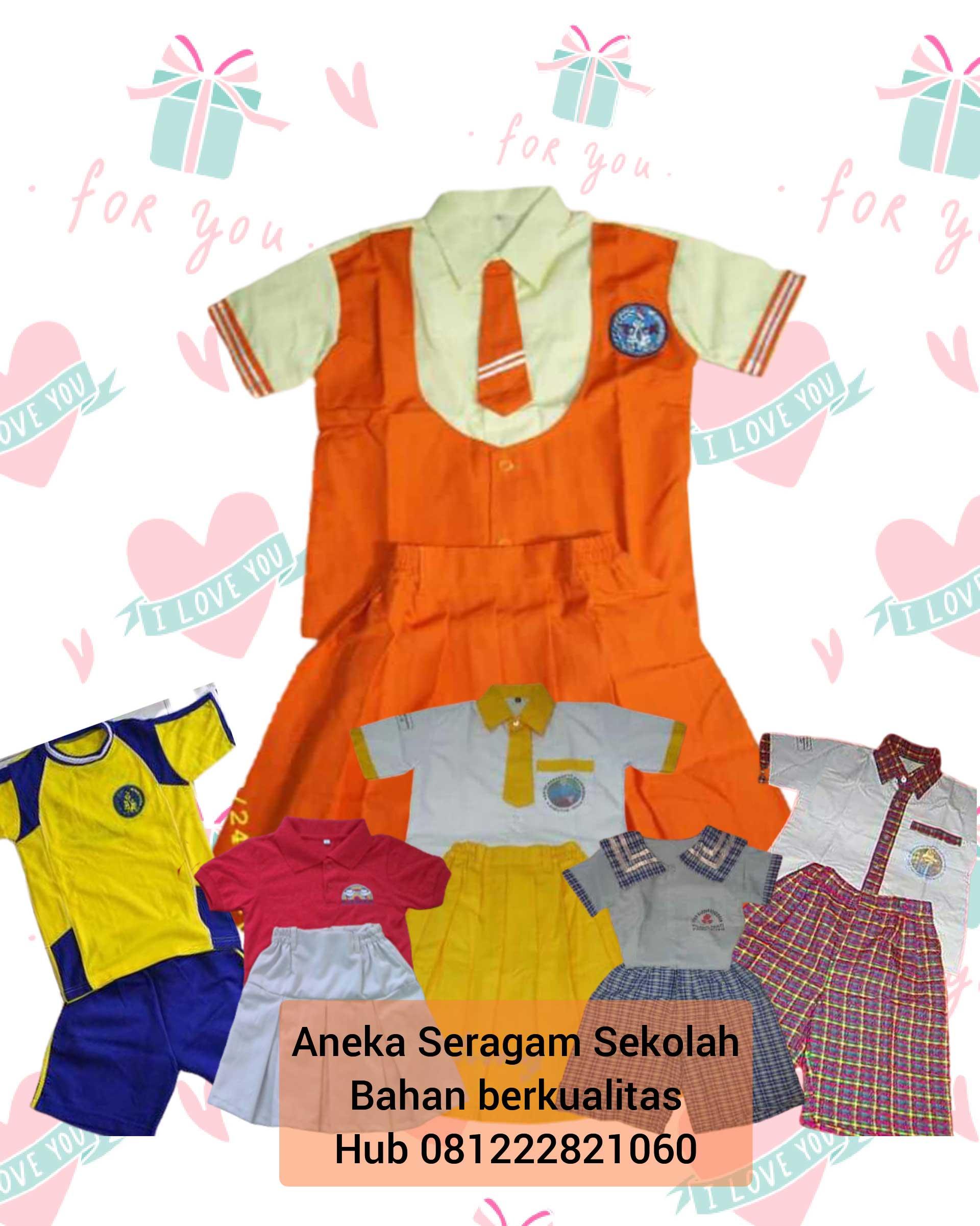 jual seragam sekolah tk murah di Kelapa Gading