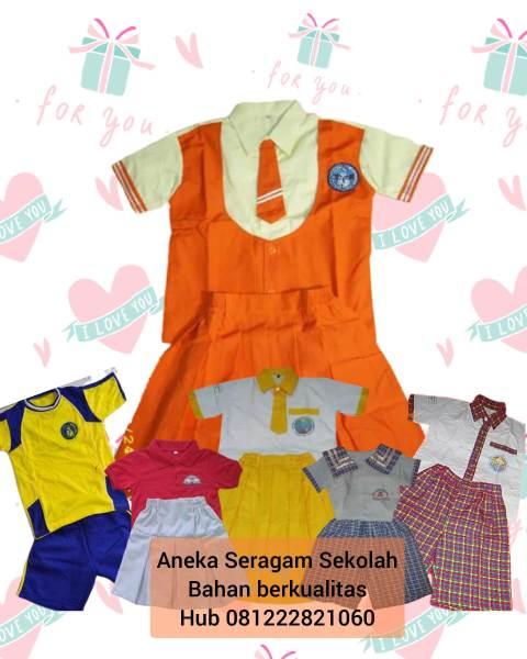ukuran seragam sekolah tk di Kebon Jeruk Jakarta Barat