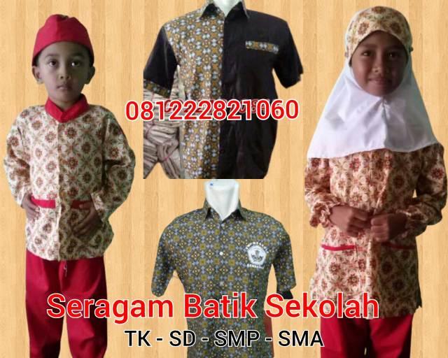 seragam sekolah tk islam murah batik sekolah di Taman Sari