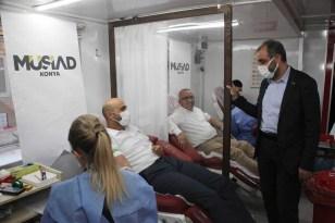 MÜSİAD Konya'dan kan bağışı