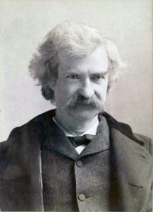 Mark Twain, a feltételezett memoáríró; forrás: wikipedia