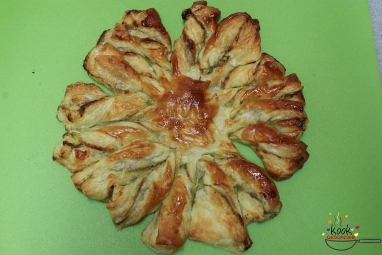 broodje bladerdeeg met pesto