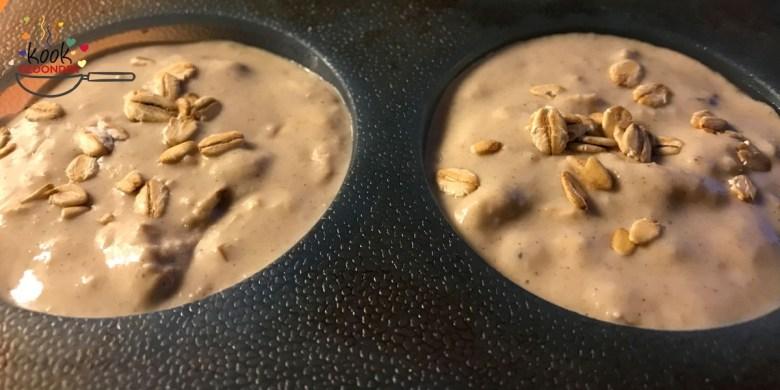 Mueslibrood beslag muffins
