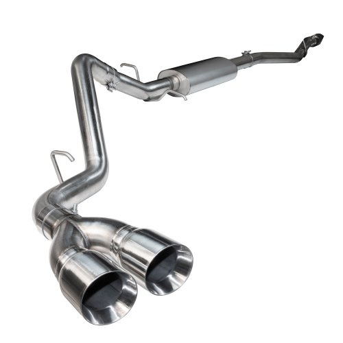 3 ss cat back exhaust w ss tips 2015 2020 f150 5 0l 4v connects to oem kooks headers exhaust