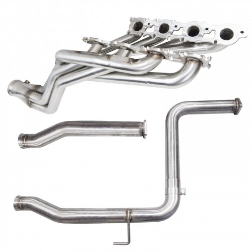 1 7 8 stainless headers non catted oem conn 2008 2015 toyota tundra 5 7l kooks headers exhaust
