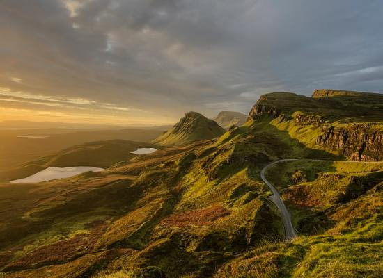 The Isle of Skye in Scotland