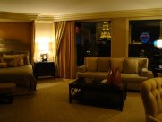 A photograph of the Salone Suite at the Bellagio, Las Vegas