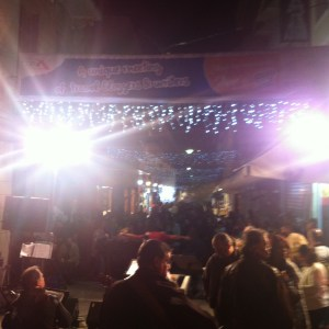 Athens: live music on Pandrosso Street