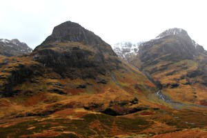 Highland fairytale: Three Sisters, Glencoe