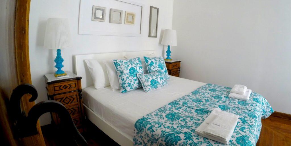 Airbnb Lisbon: master bedroom