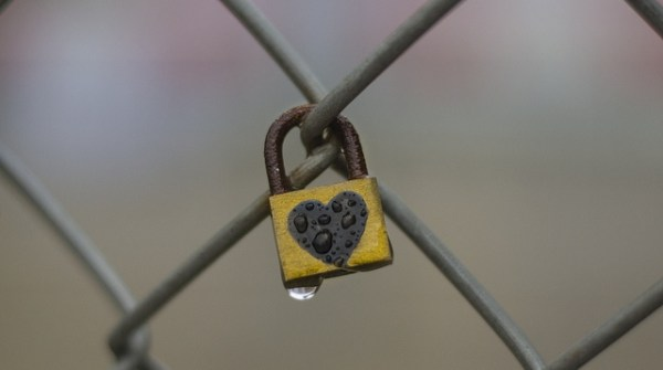 BlogStock: Heart Padlock by Ms Sara Kelly