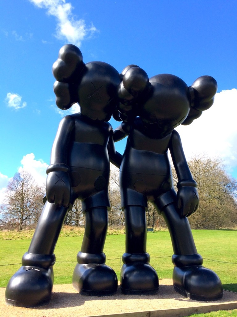 Yorkshire Sculpture Park: KAWS display 3