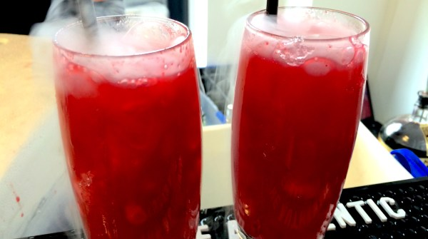 Two raspberry mojitos from BH Mallorca at #Jet2Sunchester