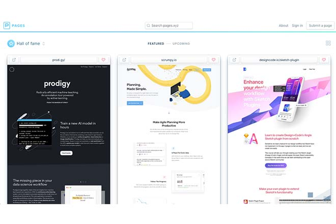 Pages - Inspiration Web Design