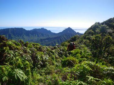 View of Kualoa and Kaʻaʻawa from Kīpapa