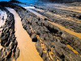 Inky Black Lava Rock