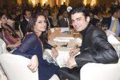Fawad Khan & Sadaf at Shaukat Khanum Charity Fundraiser in Dubai