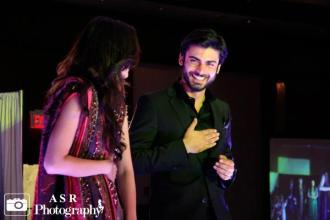 Fawad Khan & Mahira Khan in New Jersey for Ek Shaam Humsafar Key Naam (3)