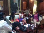 Zeb and Haniya panel at Georgetown University (1)