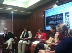 Zeb and Haniya panel at Georgetown University (6)