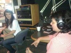 Zeb and Haniya with DJ Naomi Gingold at Georgetown University (4)