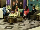 Fawad Khan, Sanam Saeed, Hadiqa Kiani, Sultana Siddiqui & Momina on Jago Pakistan Jago (6)