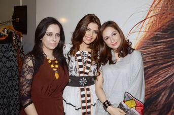 Launch of Hadiqa Kiani Fabric World (3)