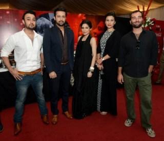 Umair Jaswal, Atif Aslam, Ayesha Omar, Zoe Viccaji and Sikandar Mufti