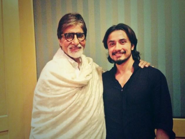 Ali Zafar meets Amitabh Bachchan (4)
