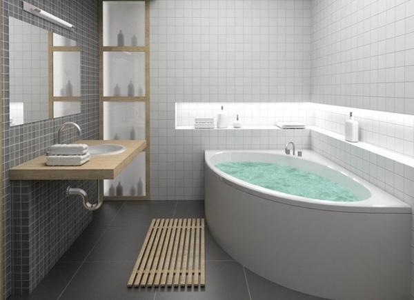 baignoire pour petite salle de bain