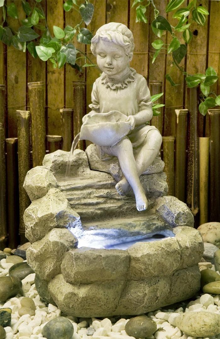 fontaines dans le jardin les
