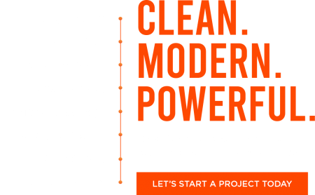 Clean, Modern, and Powerful