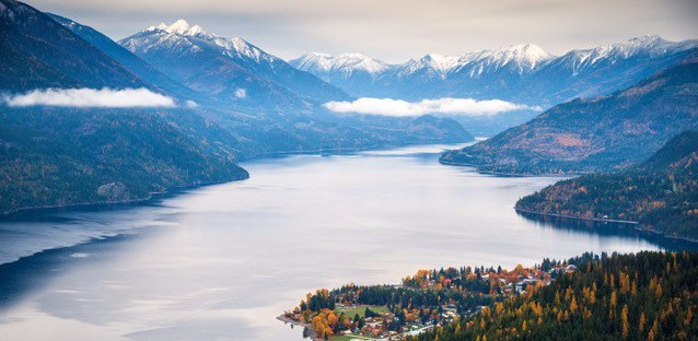 New Denver and Slocan Lake