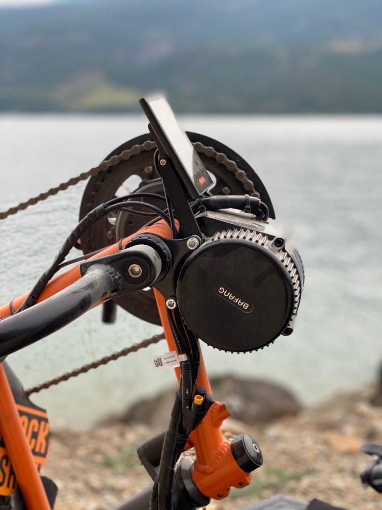 Adaptive mountain bike motore