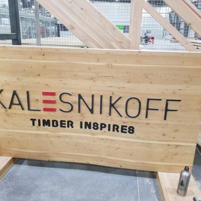 Kalesnikoff Custom Table and Mass Timber Facility Tour