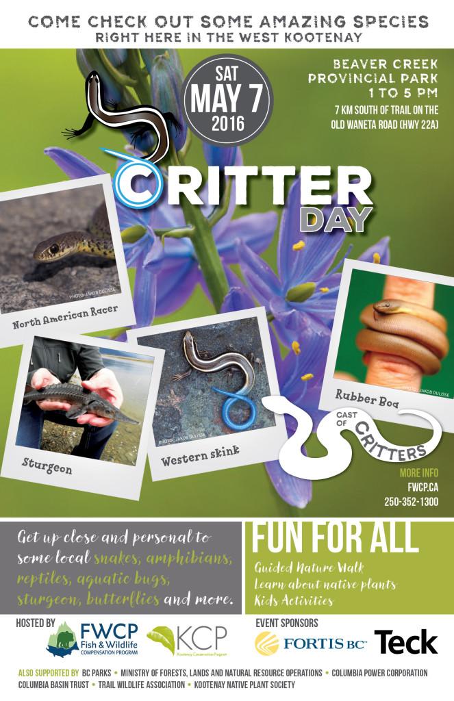 KCP Critter Day - May 2016