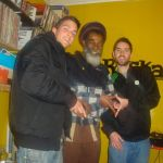 Studio session with Don Carlos