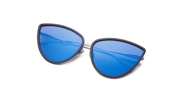 Navy Blue-Silver/Matt Blue