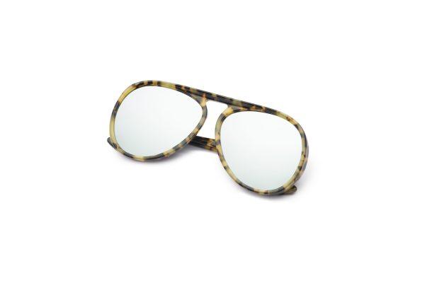 Leopard/Silver Mirror