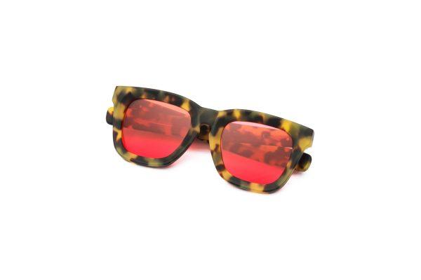 Leopard/Crimson Red