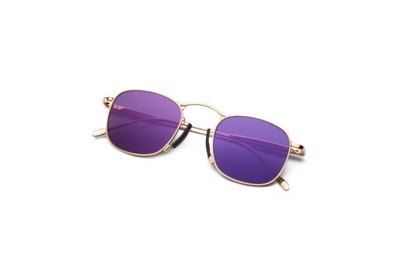 Shiny Gold/Matt Purple