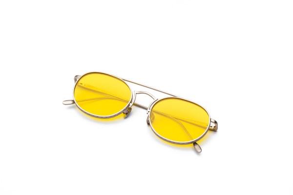 Matt Silver/Transpa Yellow