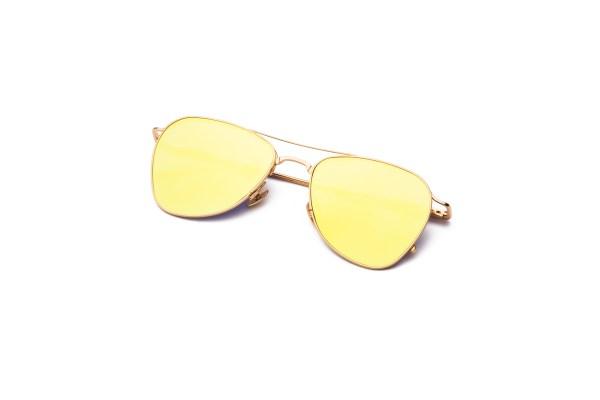 Shiny Gold/Mirrored Yellow