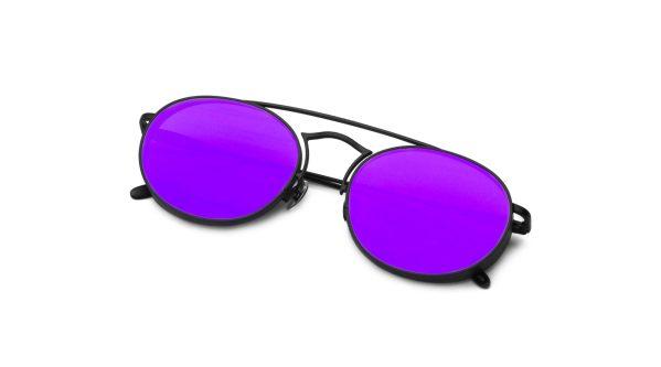 Black/Mirrored Purple