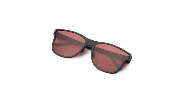 Black/Transpa Red