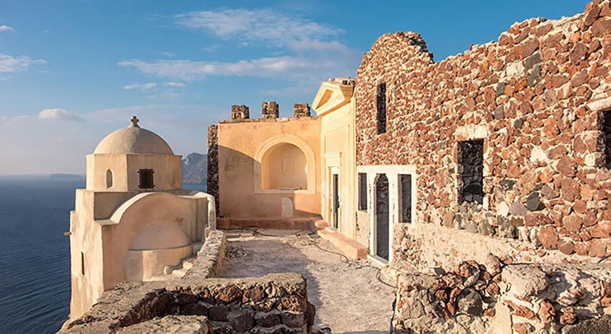 Oia's Castle